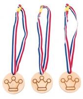 Medaille prijzen met kroontjes