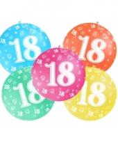 Mega ballon 18 jaar