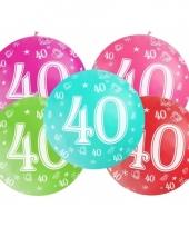 Mega ballon 40 jaar