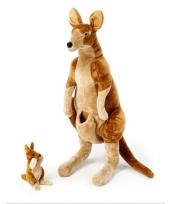 Mega knuffel kangoeroe 1 meter