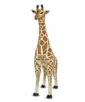 Mega pluche giraffe 140 cm