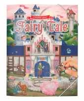 Meisjes activiteiten boek sprookjes verhaal met 217 stickers