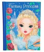 Meisjes activiteiten boek topmodel fantasy prinsessen