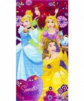 Meisjes handdoek sweet princess