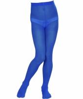 Meisjespanty blauw 40 denier