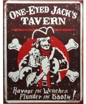Metalen wandplaat jacks tavern