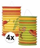 Mexicaanse lantaarns 4 stuks