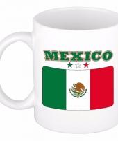 Mexicaanse vlag koffiebeker 300 ml