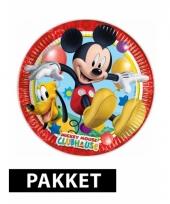 Mickey mouse kinderfeestje pakket