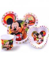 Mickey mouse ontbijtset