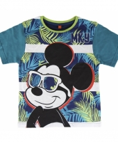 Mickey mouse zomer t-shirt voor kinderen