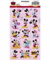 Mickey schoolstickers 15 stuks
