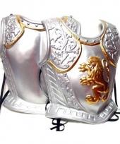 Middeleeuwse harnas zilver