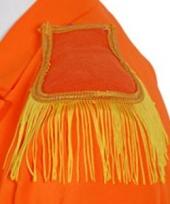 Militaire schouderkwasten oranje