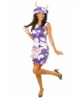 Milka koeien jurk kostuum