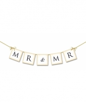 Mini slinger bruiloft mr mr