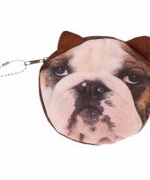 Mini tasje bulldog print