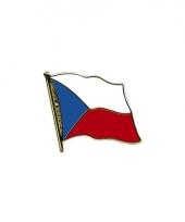 Mini vlaggetjes pin tsjechi