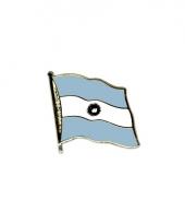 Mini vlaggetjes pins argentinie