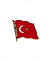 Mini vlaggetjes pins van turkije