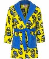 Minions fleece badjas geel voor jongens