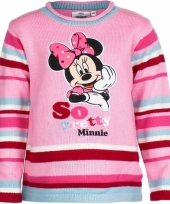 Minnie mouse trui roze