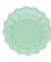 Mint chips schaaltjes 24 cm