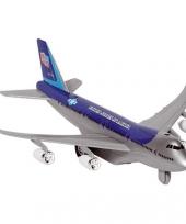 Model vliegtuigje met pull back motor 10039996