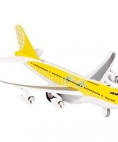 Model vliegtuigje met pull back motor 10039999