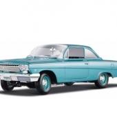 Modelauto chevrolet bel air 1962 1 18