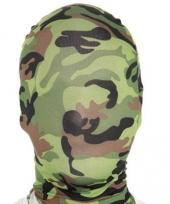 Morphsuit legerprint masker