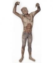 Morphsuit met zombie opdruk voor kinderen