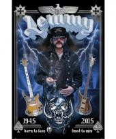 Motorhead fan poster lemmy kilmister