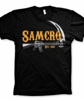 Movie t-shirt samcro voor heren