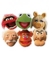 Muppetshow maskers set van karton