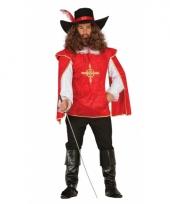 Musketiers kostuums heren