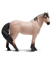 Mustang paardje van plastic 12 cm