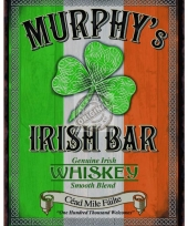 Muurdecoratie murphy irish bar