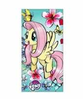My little pony badlaken strandlaken fluttershy 70 x 140 cm