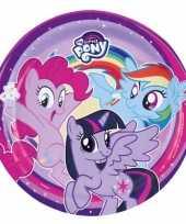 My little pony bordjes 8 stuks 10097034
