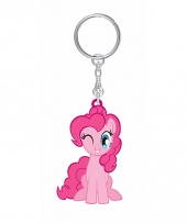My little pony sleutelhanger pinkie pie 7 cm voor meisjes
