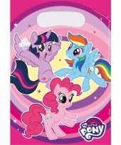 My little pony uitdeelzakjes 8 stuks