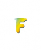 Naamslinger letters f