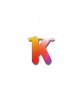 Naamslinger letters k
