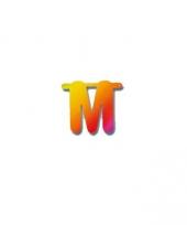 Naamslinger letters m