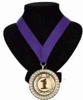 Nederland medaille nr 1 lint paars