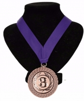 Nederland medaille nr 3 lint paars