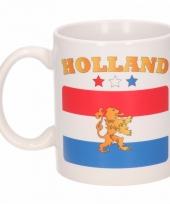Nederlandse vlag koffiebeker
