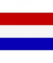Nederlandse vlag mini 60 x 90 cm