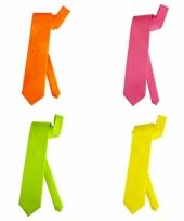 Neon feest stropdas